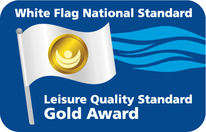Gold for Waterfront at National White Flag Quality Awards.