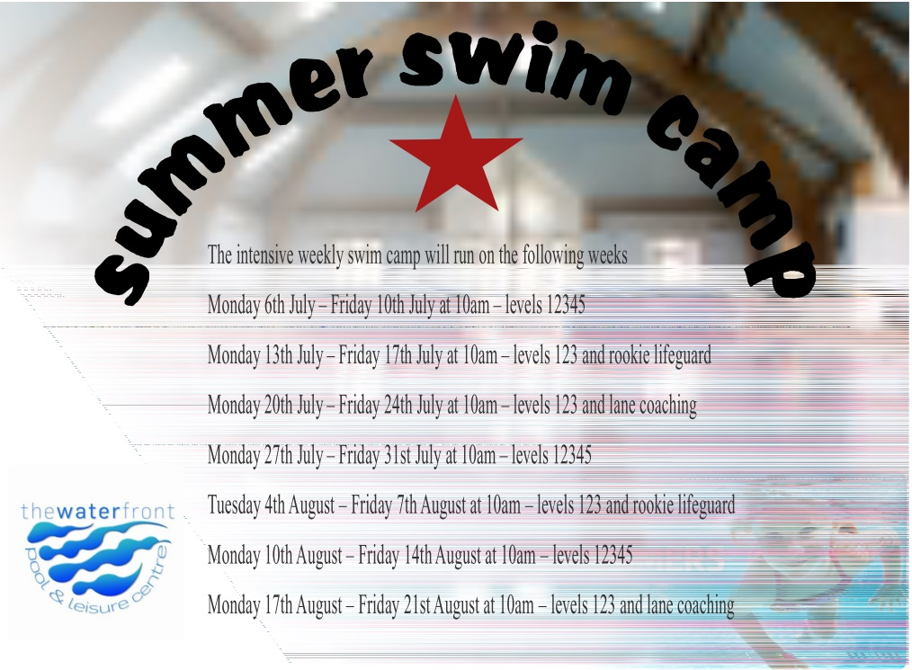 Don't miss our summer swim camp
