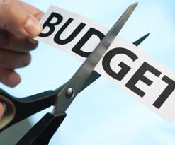 Cut the budget