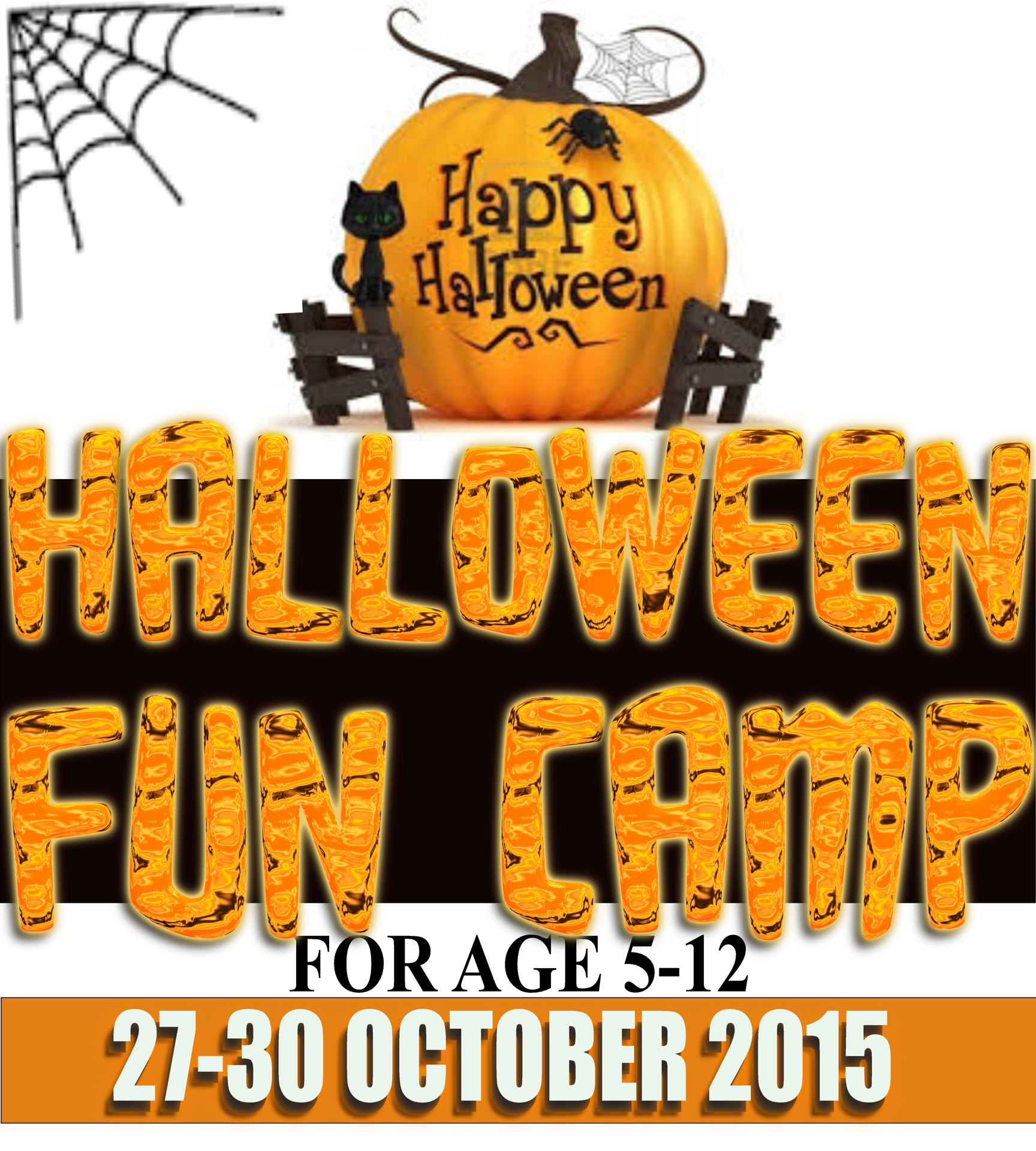HALLOWEEN CAMP 27-30 OCTOBER 2015 €45