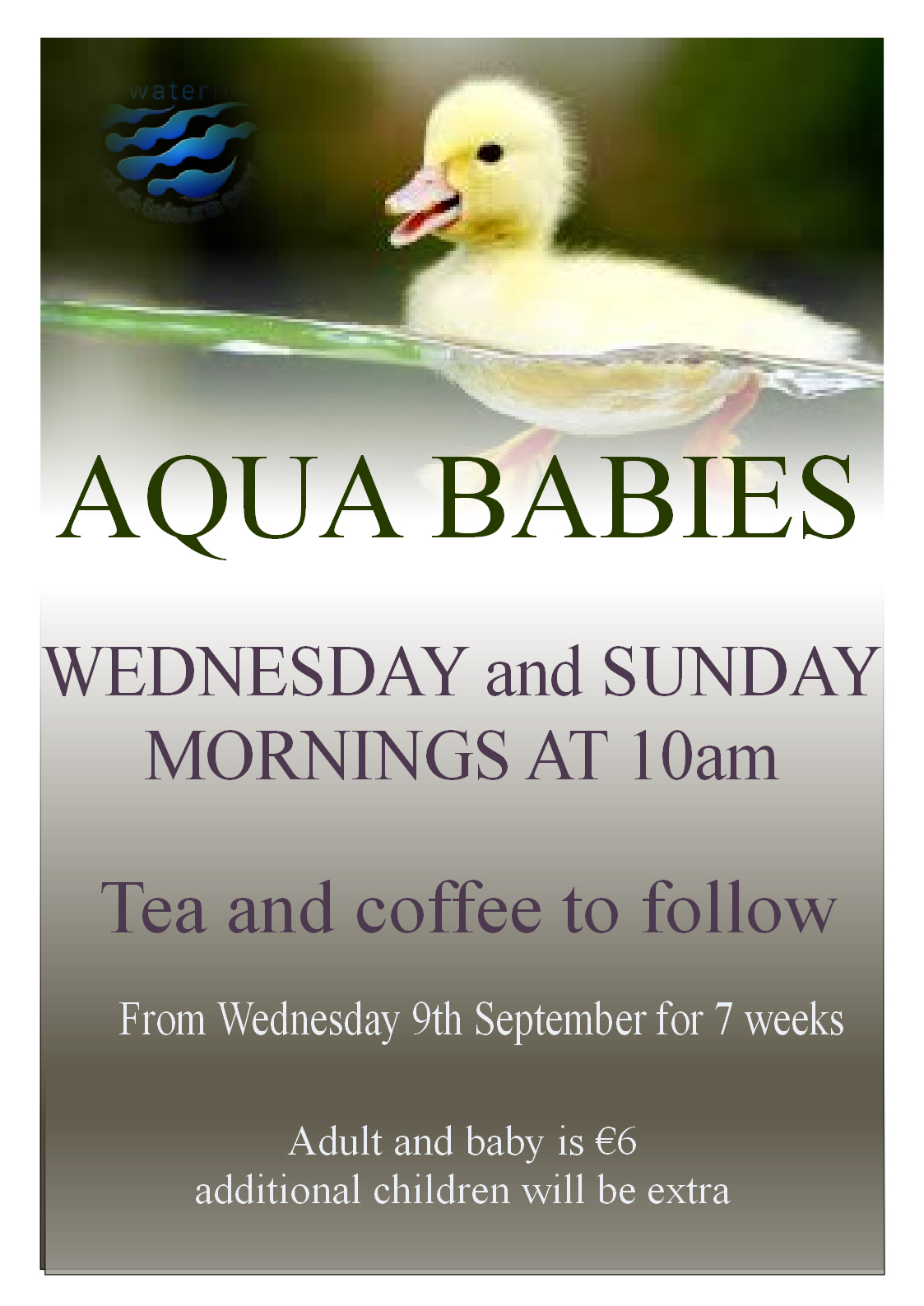 Aqua Babies starting 9th September #aquababies #enniscorthy