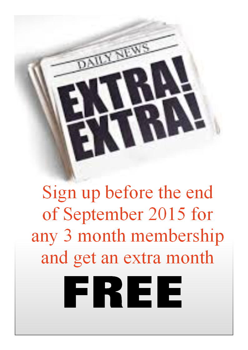 EXTRA MONTH FOR FREE #extrafree